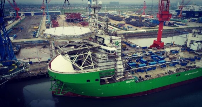 Orion Becomes Helicopter Friendly Offshore Wind
