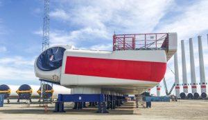 Deutsche Bucht Nears Turbine Installation