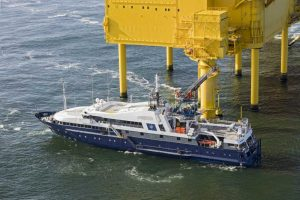 DP Galyna on German Offshore Wind Duty