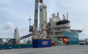 Deutsche Bucht Offshore O&M Base Getting Ready