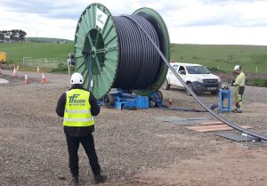 TFKable Installs First Moray East Onshore Cable