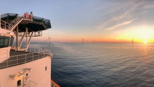 100th Turbine Up at Hornsea One