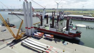 First TWBII Turbine Parts Embark on Taillevent
