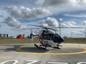 First Flight Lands at New Eemshaven Heliport