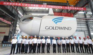 Goldwind Launches 8MW Offshore Wind Prototype Turbine