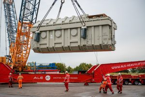 First Transformer Arrives to Triton Knoll Onshore Substation