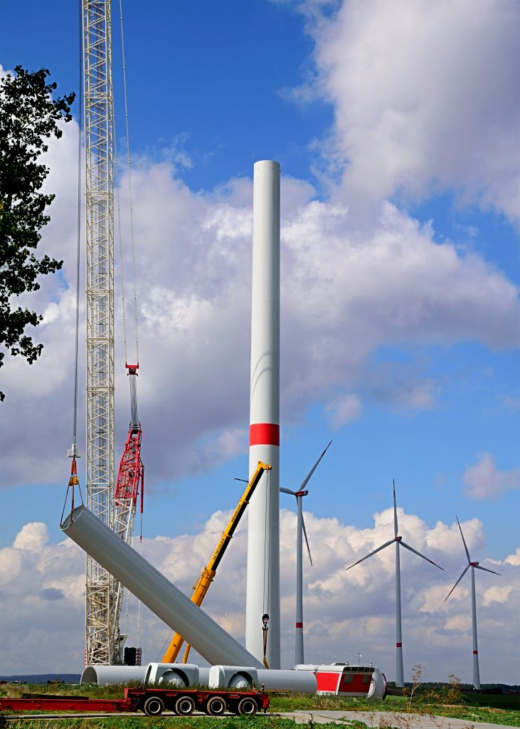 Faccin onshore and offshore solutions for wind tower foundations
