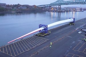 GE Haliade-X 12MW Blade Arrives in US for Testing