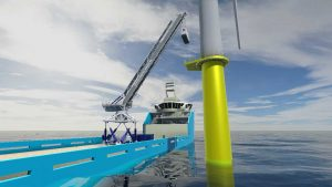 Ampelmann Ups Offshore Lifting Game
