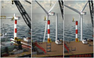 Arcadis Ost 1 First to Use Floating Turbine Installation Method