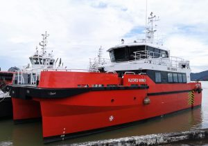 BMT Delivers First Mid-Range CTV to Njord Offshore