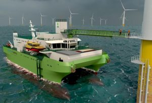 DEME Lays Keel for First Offshore Wind Maintenance SOV