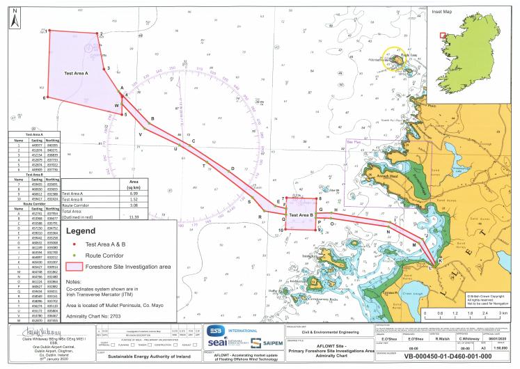 Saipem Seeks Permission for Surveys Offshore Ireland