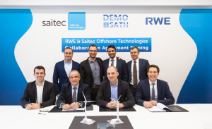RWE and Saitec Jointly Wade Into Deep Waters