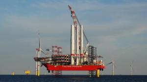 Blue Tern Swoops On German Offshore Wind Farm