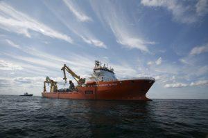 Global Offshore's Newbie to Work on Kriegers Flak