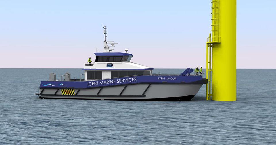Diverse Marine Building New Turner Iceni CTV