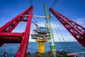 Second SeaMade Substation Topside Touches Down