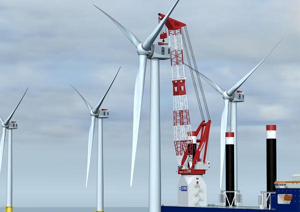 Huisman and PaxOcean Firm Up Vessel Crane Order