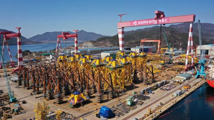 Foundation Production for Changhua Phase 1 Nears Completion