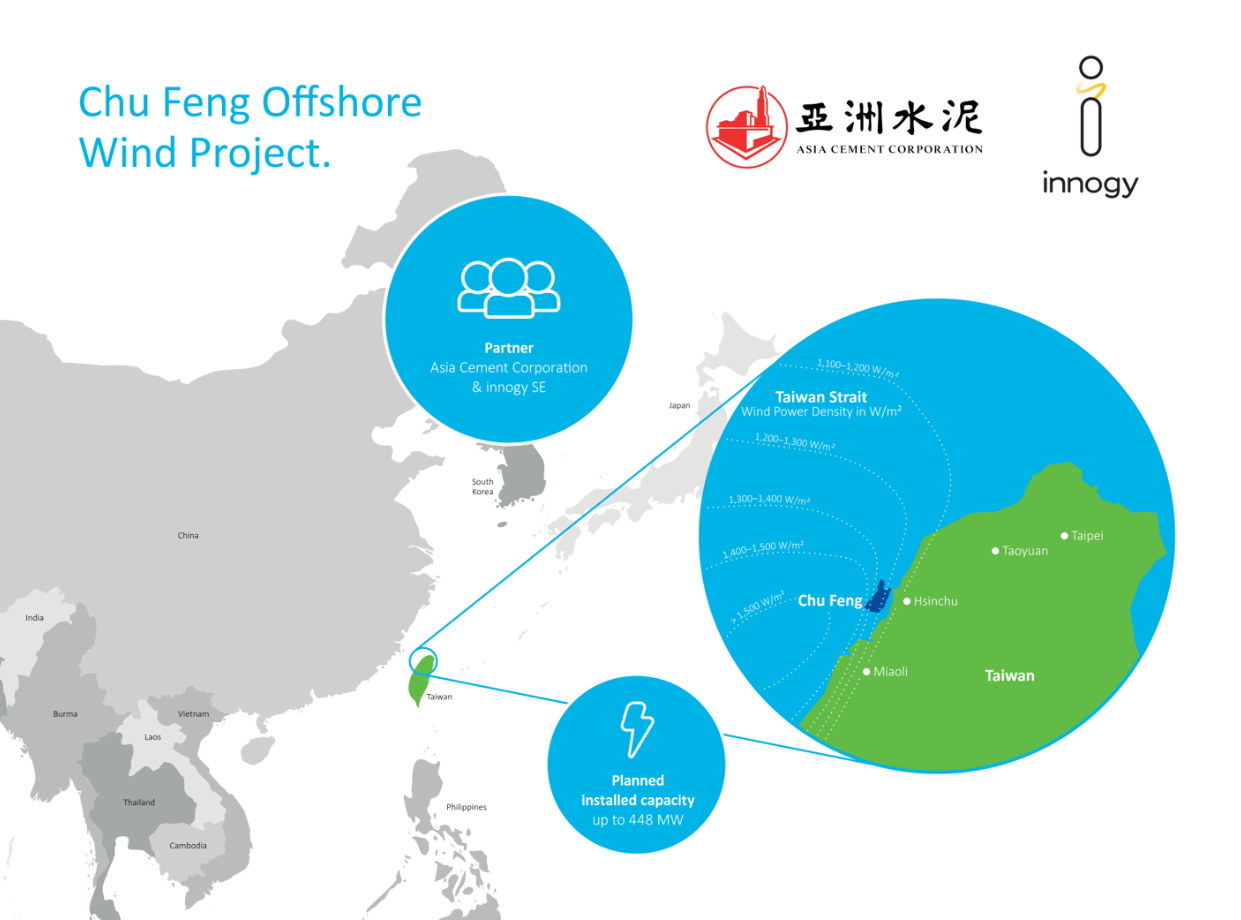 Innogy Enters Taiwanese Offshore Wind Market