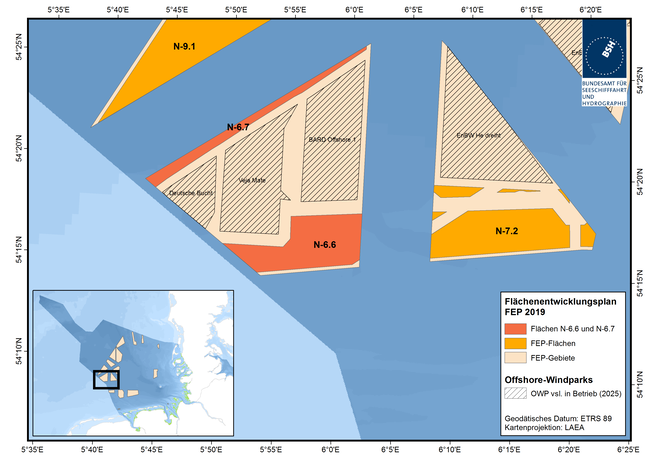 BSH Seeks Meteorological Services for North Sea Wind Zone