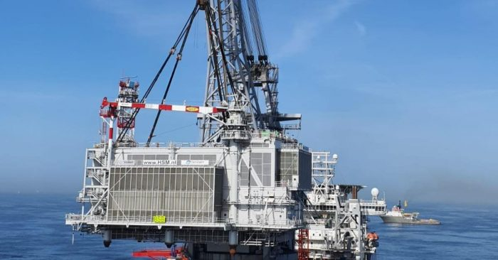 Borssele Beta Offshore Substation Topside Touches Down