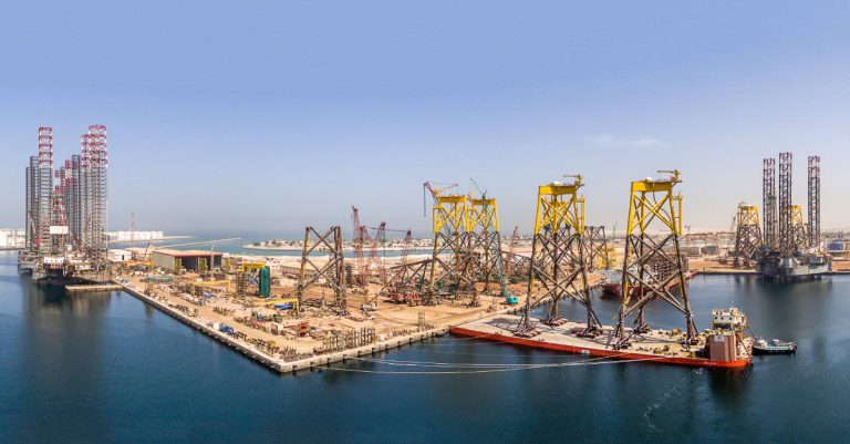Lamprell to Close Sharjah Yard after Moray East Work Done