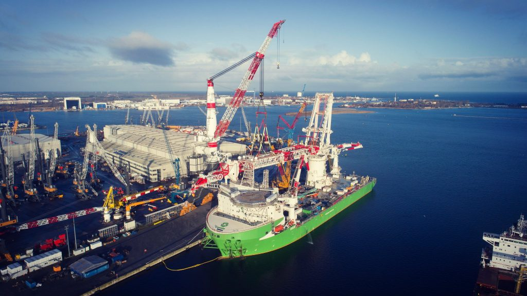 DEME Looking For Replacement Vessel for Moray East Jacket Installation