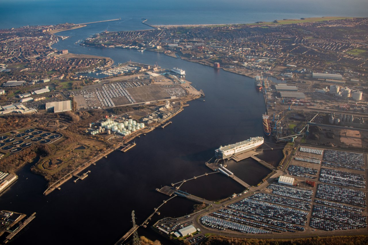 World's Largest Offshore Wind Farm Homeports in Tyneside