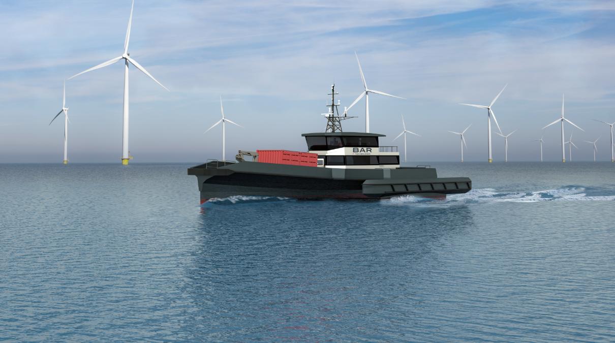 Chartwell Marine and BAR Technologies Unveil Next-Gen CTV Design