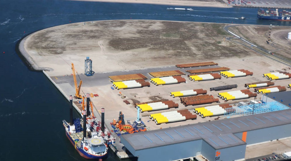Siemens Gamesa to Use Sif's Site for Hollandse Kust Zuid Marshalling Activities