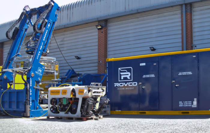 Rovco's New ROV to Spend Summer on Offshore Wind Projects