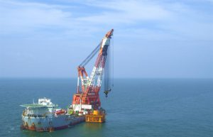 All Foundations Up at Zhuhai Jinwan Offshore Wind Farm