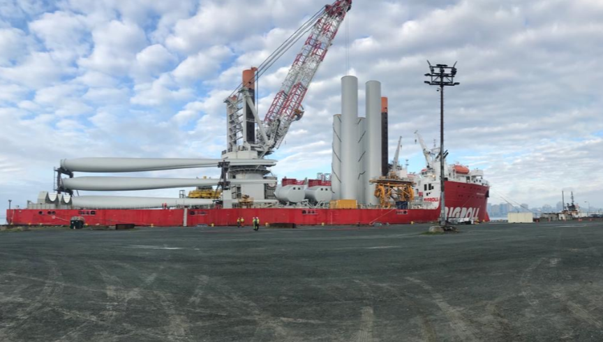 Vole au Vent Back in Halifax for Siemens Gamesa Kit