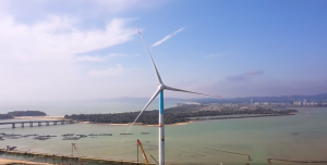China's First 8 MW Offshore Wind Turbine Enters Operation