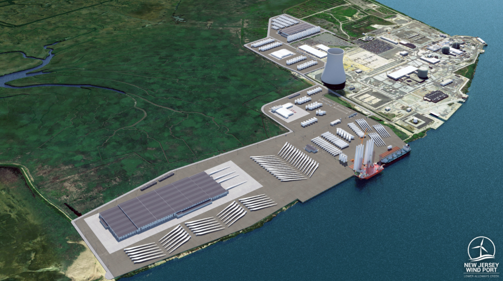 New Jersey to Build Offshore Wind Port
