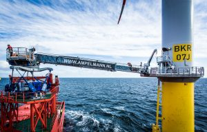 Ampelmann Nets Five Offshore Wind Contracts