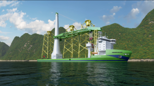 Huisman to Deliver Cranes for Taiwan's First Offshore Wind Installation Vessel