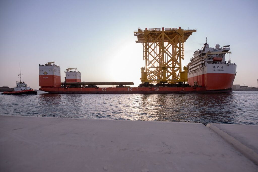 Eversendai Offshore Sends Off HKZ Alpha Jacket