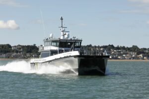 Seacat Weatherly Heads Straight to Work