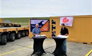 Kraanverhuur Transport Friesland Bags Windpark Fryslân Contract