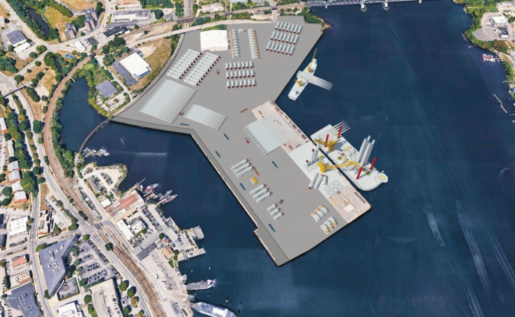Construction Permit Sought for Connecticut Offshore Wind Hub