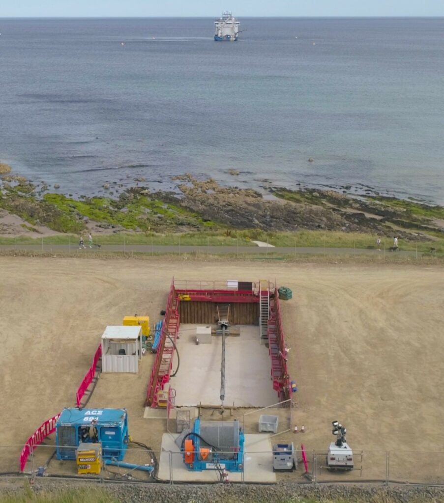 First Moray East Export Cable Makes Landfall