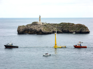 BlueSATH Floating Turbine Prototype Ready to Take Off
