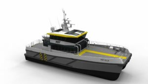 Keel Laid for HST's New Hybrid Chartwell 24 CTV