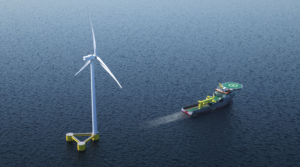 Boskalis Secures First Floating Wind Project