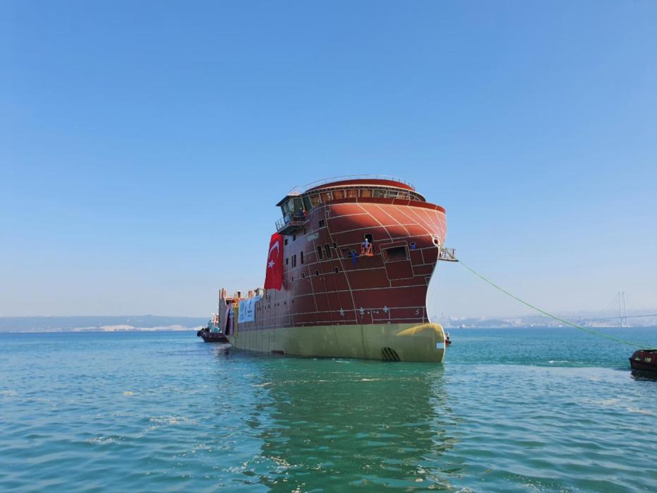 Second MHI Vestas SOV Hits the Water in Turkey