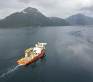 Ørsted Hires Solstad Construction Support Vessel for Taiwanese Work