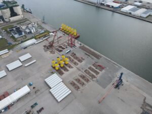 First Hornsea Two Transition Pieces Arrive in Eemshaven